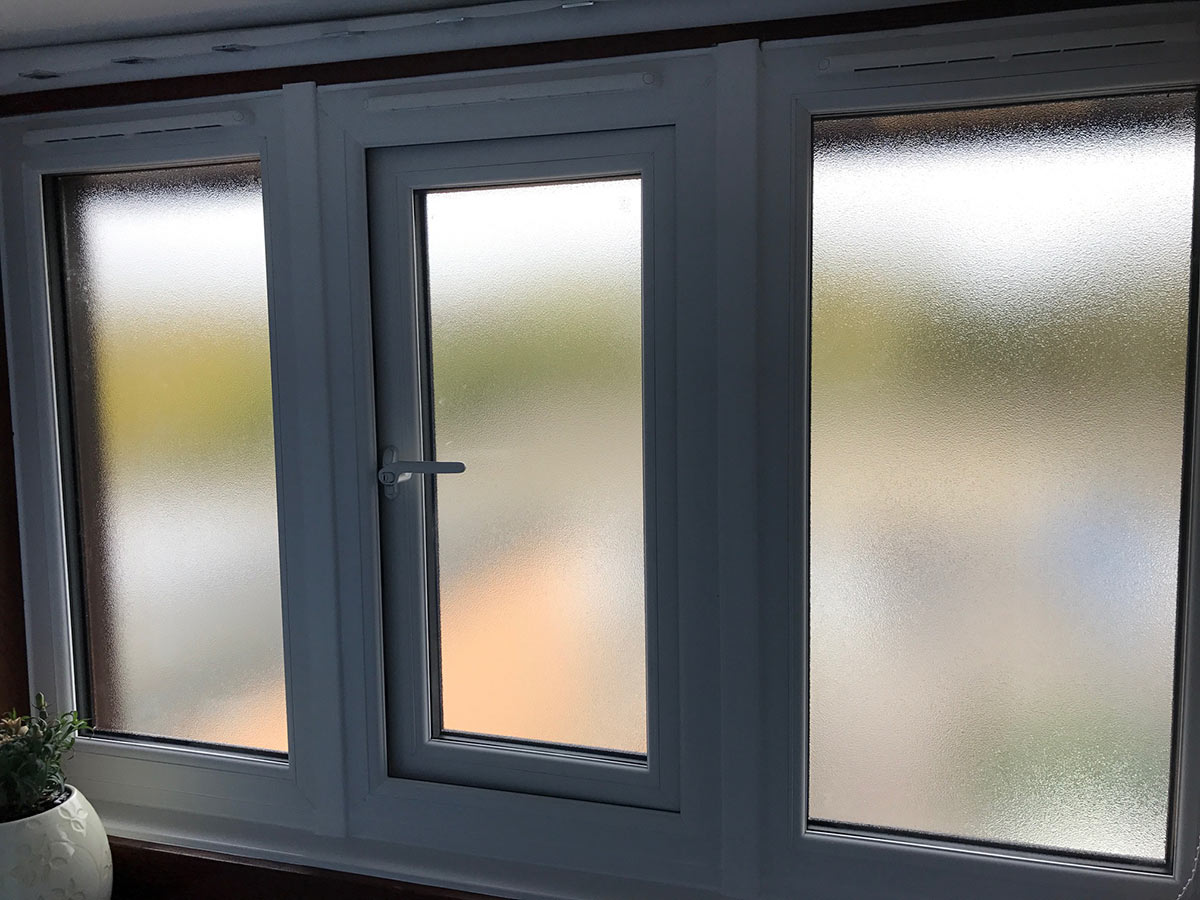 Dual colour UPVC Windows