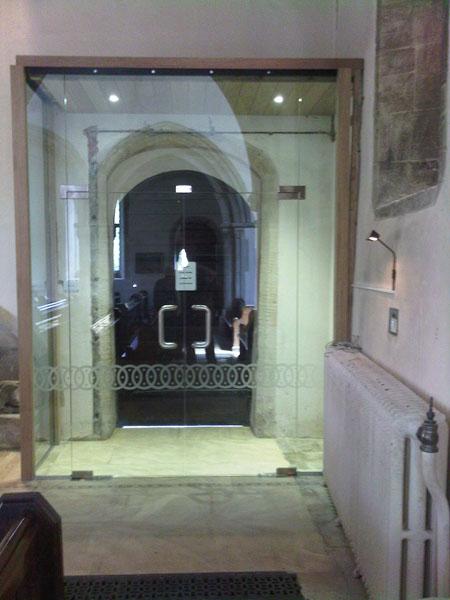 Bibury Church Doors