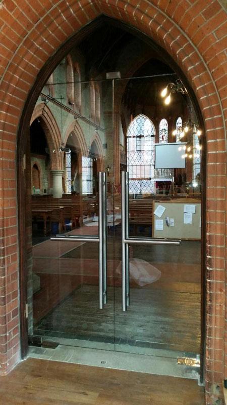 St Lukes Church Doors