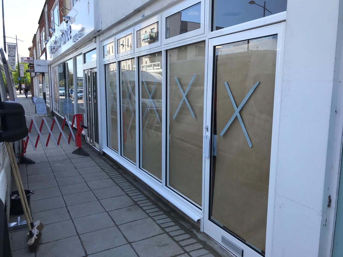 Shopfront Installation Havant