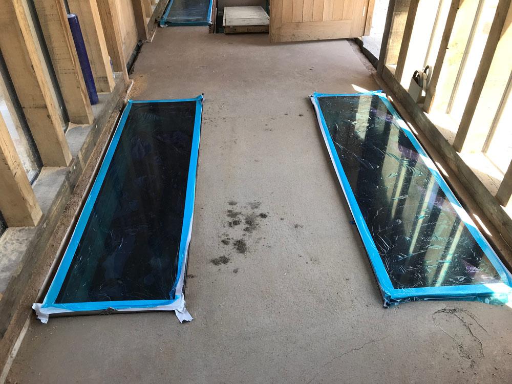 Walk Over Glass Floor
